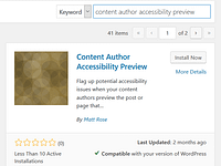How To Quickly Check Your WordPress Content Accessibility Before Publishing