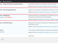 DeepL Integration available in TranslatePress