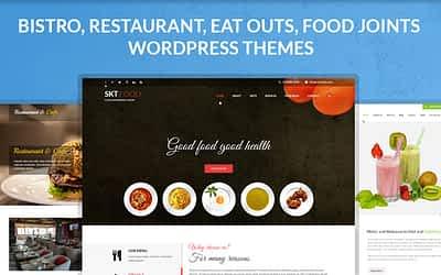 Vegetarian Restaurant WordPress Themes for People Who Love Veg Food