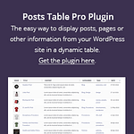 Posts Table Pro Square Banner Deals and coupons