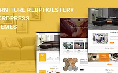 Furniture Reupholstery WordPress Themes for Furniture & Interior Business