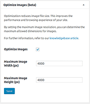 Optimize images for better loading times