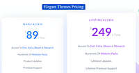 Elegant Themes Plans Divi Pricing Launch der Website für Blitzschutz Hinderthür GmbH & Co.KG