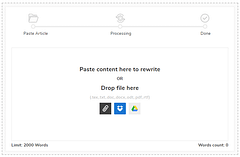 Article Rewriter: Online Paraphrasing Tool to Rewrite Content