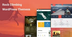 6 Rock Climbing WordPress Themes for Adventurous and Extreme Sports