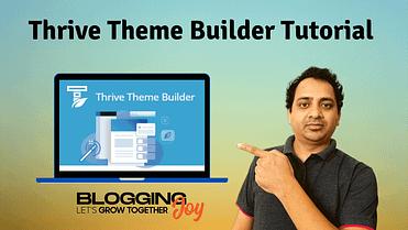🥇 Thrive Theme Builder Tutorial (Design A Website From Scratch)