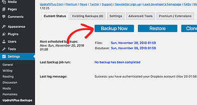 How To Use Restore WordPress Site Using UpdraftPlus Back Up?