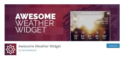 5+ Best WordPress Weather Widgets to Keep Your Website Sunny and Bright
