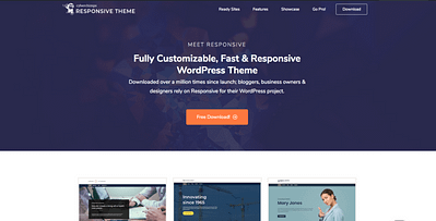 20 Best Free Responsive WordPress Themes For 2020