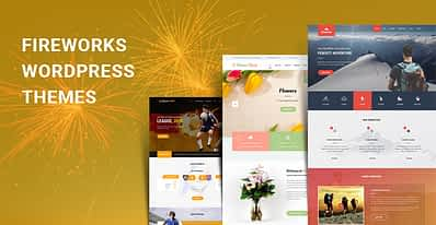 Fireworks WordPress Themes for Fireworks and Crackers Type of Sites
