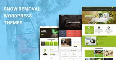 Snow Removal WordPress Themes for Snow Clearing and Shovelling