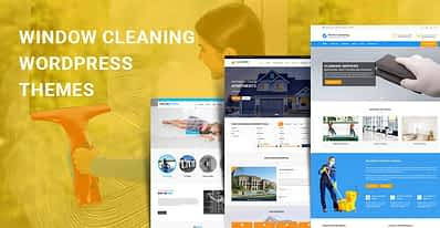 Window Cleaning WordPress Themes for Cleaning Kind of Websites