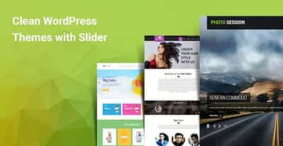 6 Clean WordPress Themes With Slider Make Your Website Stand Out
