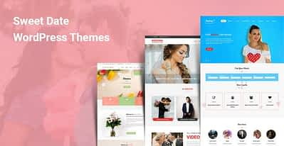 7 Sweet Date WordPress Themes for Dating Engagement Matchmaking
