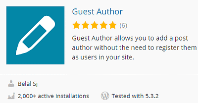 6 Best Guest Author WordPress Plugins to Manage Multi-Author Blogs