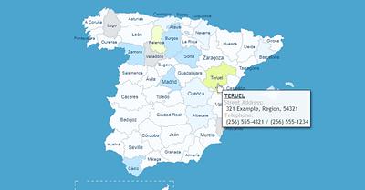 Cómo Añadir un Mapa Interactivo de España a tu Página Web WordPress