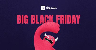 Чёрная пятница в Elementor