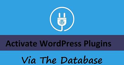 Activate WordPress Plugins Via The Database