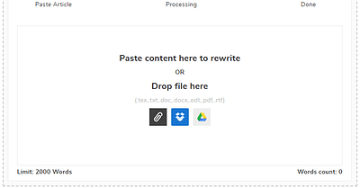 Article Rewriter: Online Paraphrasing Tool to Rewrite Content