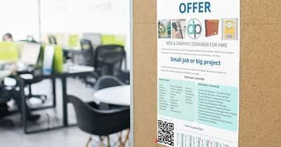 Design With Google Slide – Job Offer Board Ad