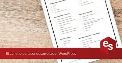 El camino para ser desarrollador WordPress
