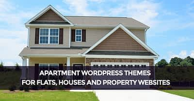Apartment WordPress Themes for Flats Houses and Property Websites