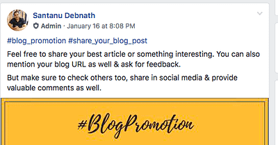 How To Promote Your Blog Post After Publishing For FREE