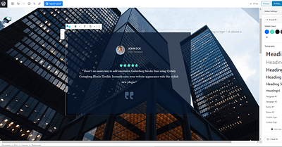 Qubely Global Settings Bring Uniform Styling to Your WordPress Website