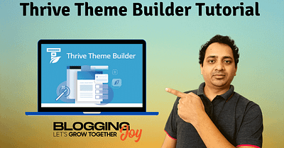 Thrive Theme Builder Tutorial (Design A Website From Scratch)