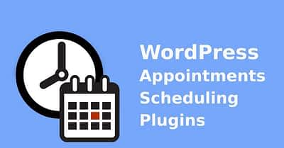 11 WordPress Scheduling Plugin to Easy Appointments Scheduling System