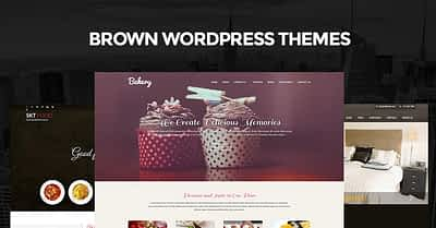 8 Brown WordPress Themes for Creating Brownish Coloured Websites
