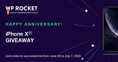 WP Rocket 7th Anniversary Contest: A Party Not to Miss