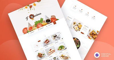 Design A Stunning Restaurant Website Using Ready Elementor Template