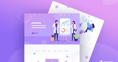 How to Create Digital Agency Website Using FREE Elementor Template