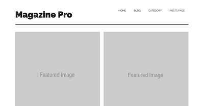 Magazine Pro Templates To Display Different Archive Page Types In Equal Height Columns