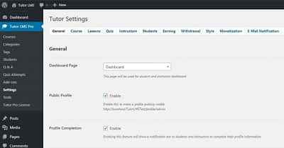 Tutor LMS v1.6.6 Brings Profile Completion Status, Dashboard Improvements, and More