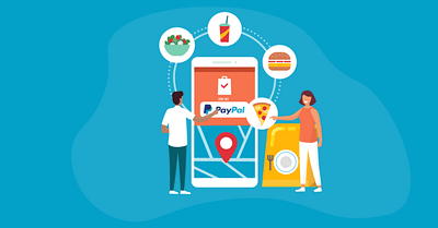 How to set up PayPal for food orders