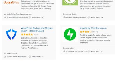 8 Best WordPress Backup Plugins for 2020