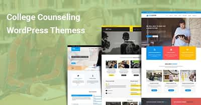 6 College Counseling WordPress Themes for Student Teachers Consultation