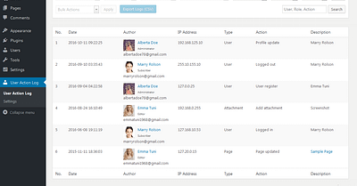 WordPress User Roles And Permissions (Track User Activity On Site)