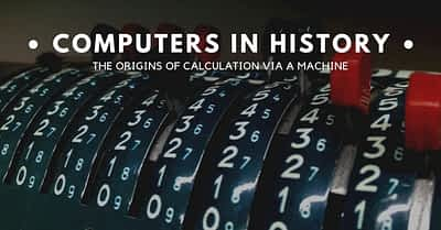 At what point did computing begin?