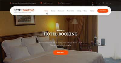 14 Best Hotel WordPress Themes & Templates 2020 from SKT Themes