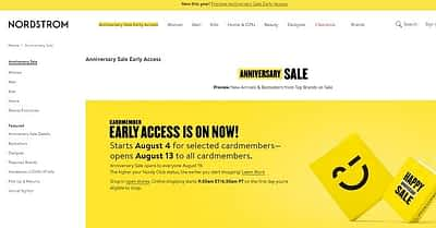 How to Host an Anniversary Sale on Your Website