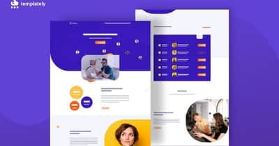 Easiest Way To Create Virtual Conference Website Using Elementor Template