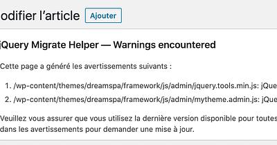 Jquery et J qui pleure : Pourquoi la dernière mise à jour de WordPress a cassé votre site (et comment y remédier)