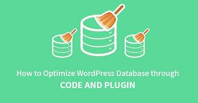 How to Optimize WordPress Database through Code And Plugin