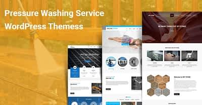 Pressure Washing Service WordPress Themes for Washing Cleaning Business