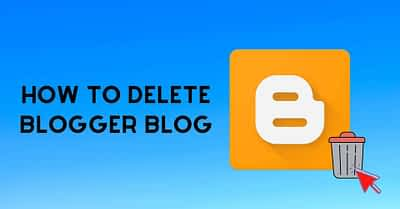 How To Delete Blog (Easy to learn from scratch in 2020)