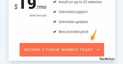 Thrive Themes Pricing & Total Cost + Individual Thrive Plugins Price