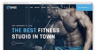24 WordPress Themes For Sports And Healthy Lifestyle 2020